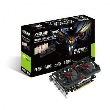 ASUS GTX 750 Ti DCII OC STRIX 4GB GDDR5