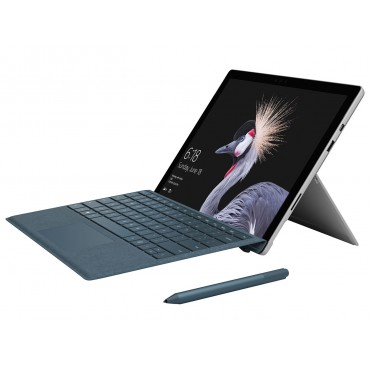 Microsoft Surface Pro 2017 LTE Adnanced - B - With Black Type Cover And Golden Guard Bag