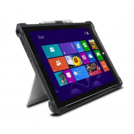 Microsoft Surface Pro 2017 - C - Tablet with Black Type Cover and STM Dux Cover